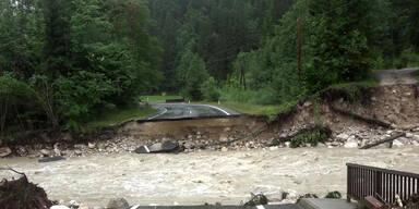 Erneut starke Regenfälle angekündigt