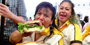 Mexiko-City: Riesensandwich in 3 Minuten