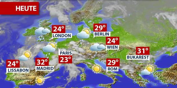 Wetterprognose Heute