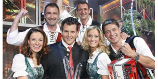 Tiroler sind Volksmusik-Kaiser