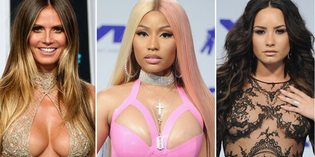 Klum, Minaj und Co. versexen die VMAs