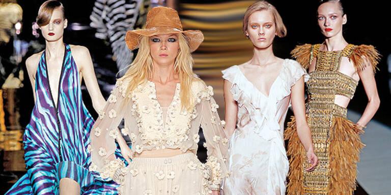 Die Vogue-Trends für 2011 anziehen