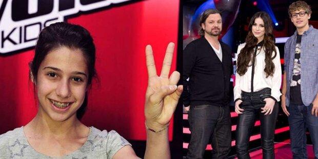 """Michèle siegt bei """"The Voice Kids"""""""