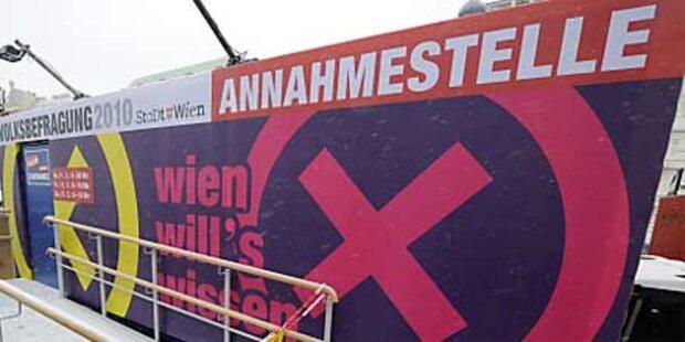 In Wien startet die Volksbefragung