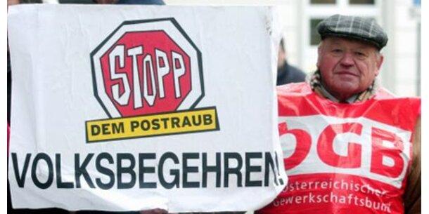 Post-Volksbegehren startet nächste Woche