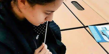 Regierung plant: Volksschüler sollen sich drei Mal testen