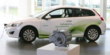 Volvo und Siemens entwickeln Elektroautos