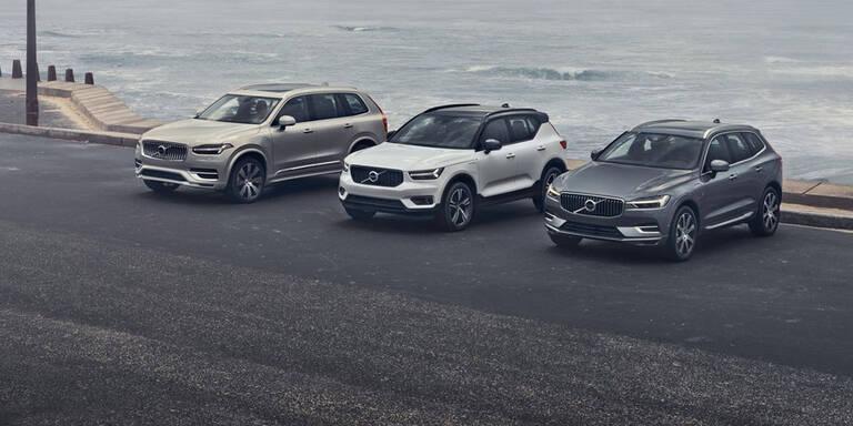 Volvo rüstet XC40 sowie 60er- und 90er-Reihe auf