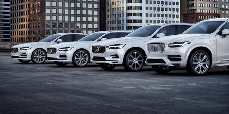 Jeder Volvo ab 2019 mit Elektromotor