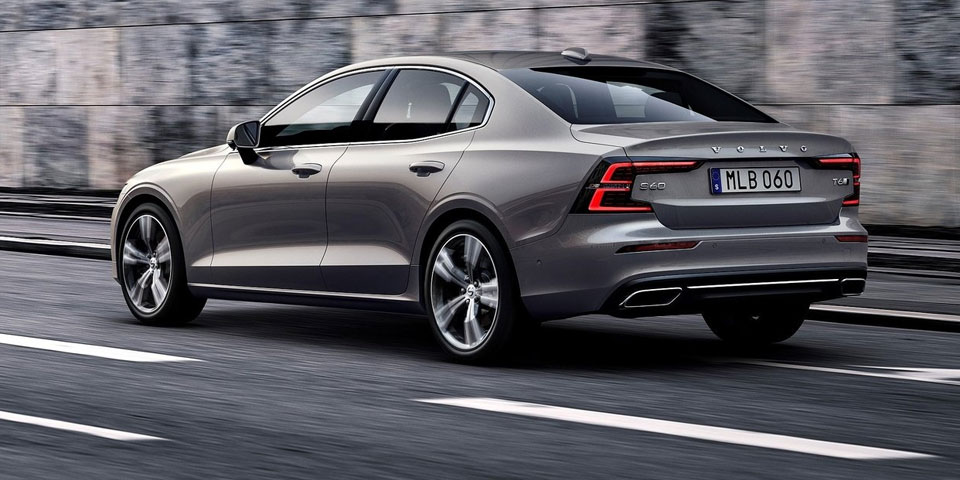 This is the brand new Volvo S60 (2019)