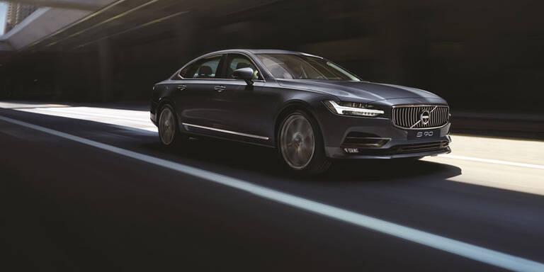 """Volvo S90 mit """"Rolls Royce-Ausstattung"""""""