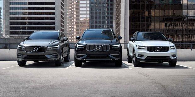 Volvo profitiert vom SUV-Boom