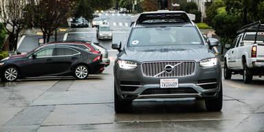 Fahrverbot für Ubers Roboterautos