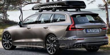 Mega-Leak: Fotos zeigen neuen Volvo V60