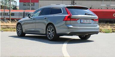 Der Volvo V90 D3 im Kurztest