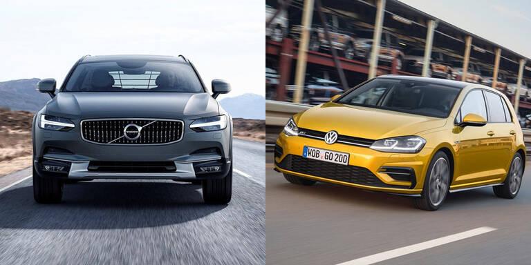 VW düpiert Volvo am Heimatmarkt