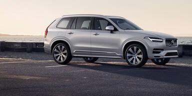 Volvo XC90 bekommt Mildhybrid-Benziner