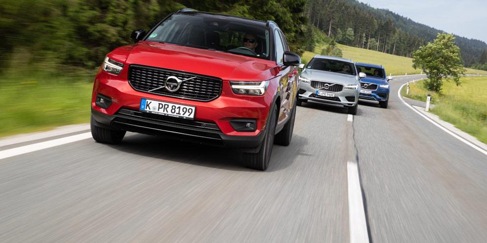 Neue Einstiegsmotoren F 252 R Volvo Xc40 Und Xc60 Modelljahr