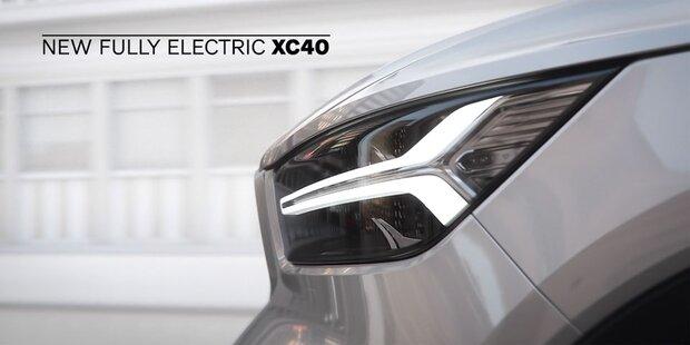Volvo überrascht mit elektrischem XC40