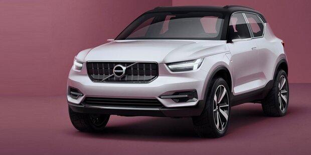 Erste Infos vom neuen Volvo XC40