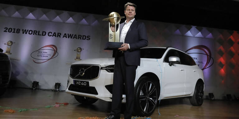 """Volvo XC60 ist """"World Car of the Year"""""""