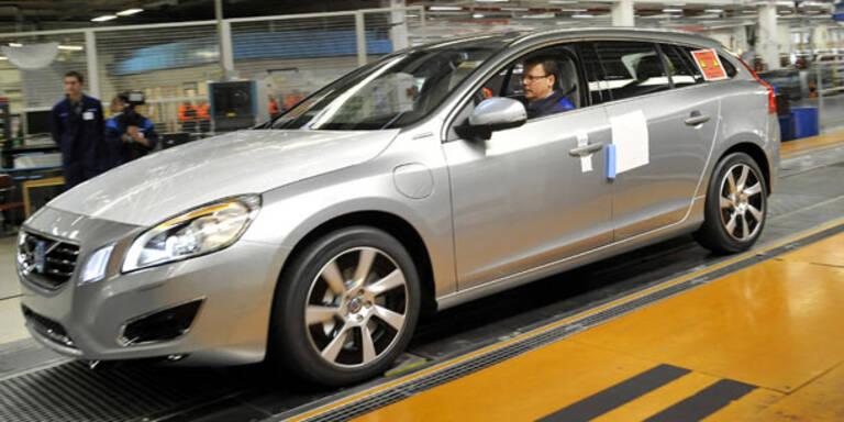 Start für den Volvo V60 Plug-in-Hybrid