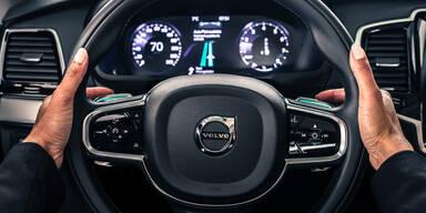 Volvo zeigt innovatives Bedienkonzept