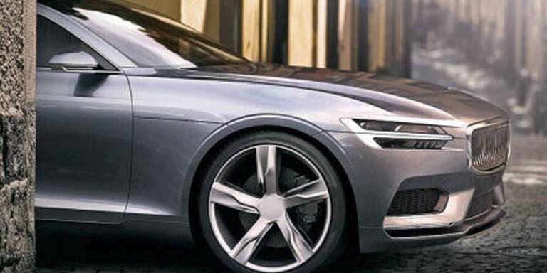 Volvo zeigt sein neues Marken-Gesicht