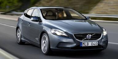 Saubere Modelle vom Volvo V40 und C30