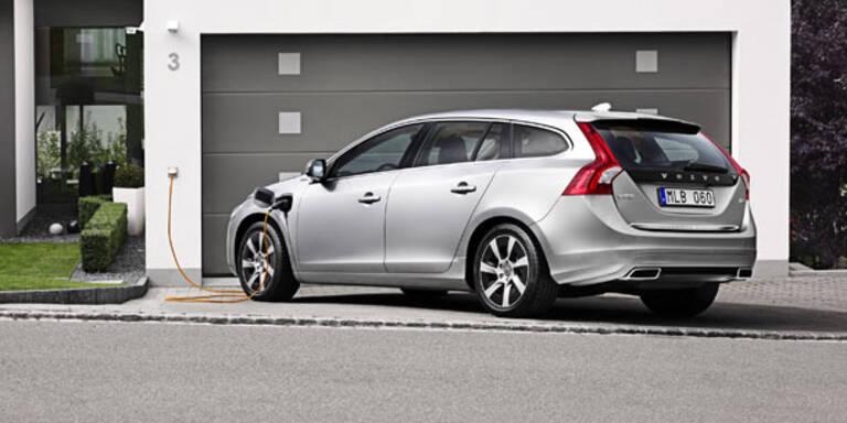 Neue Infos vom Volvo V60 Diesel-Plug-in-Hybrid