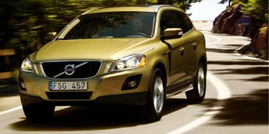 Schnittig. Der XC60 ist mit Sicherheit einer der ansehnlichsten Vertreter in der Kompakt-SUV-Klasse. Bild: Volvo.
