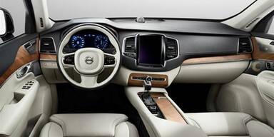 Erster Blick in den neuen Volvo XC90