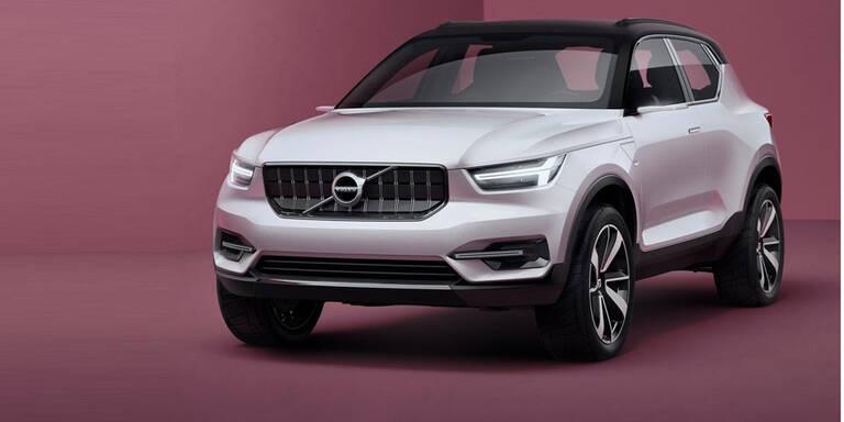Volvo zeigt XC40, S40 und Elektroauto