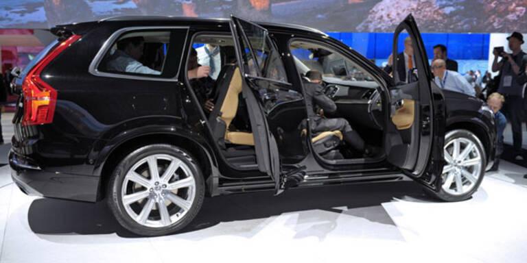 Volvo führt wegen XC90 3. Schicht ein