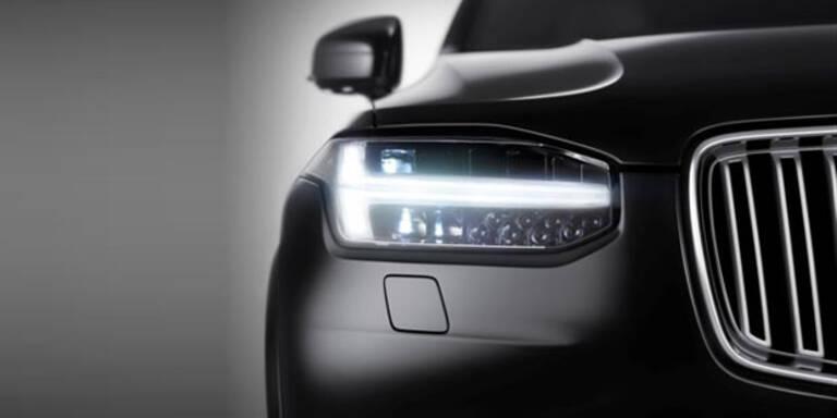 Volvo verrät neue Details vom XC90