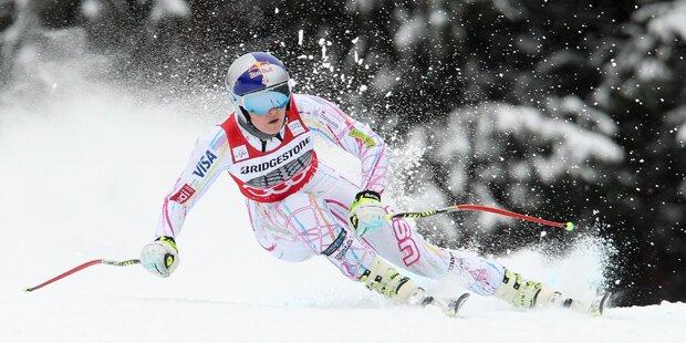 Lindsey Vonn bricht sich Oberarm