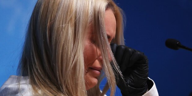 Dramatischer Tränen-Auftritt von Vonn