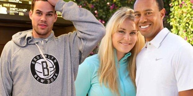 Woods spannte Vonn Kardashians Ex aus