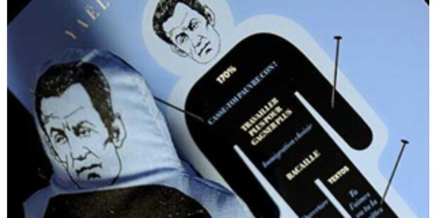 Sarkozy-Voodoo-Puppe wieder im Handel
