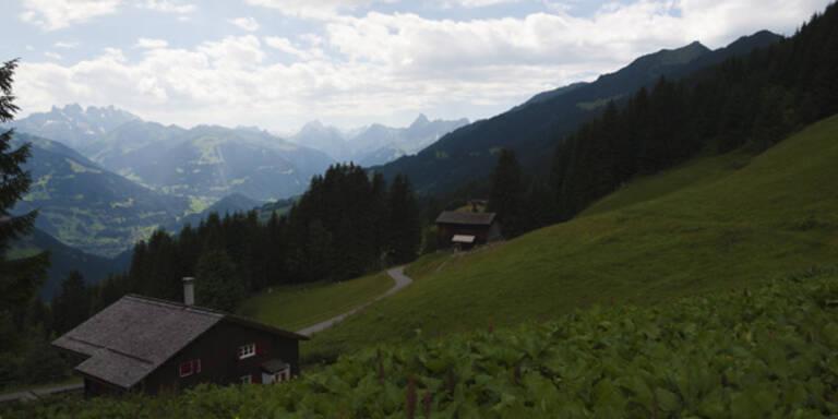 Unwetter: Nur leichter Regen in Vorarlberg