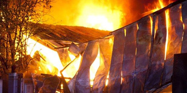 Möbelhaus in Vorarlberg brannte komplett ab