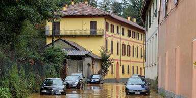 Norditalien steht unter Wasser