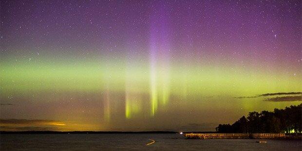 Sonneneruption sorgt für Polarlichter