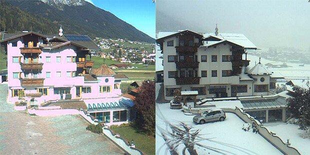 So plötzlich kam der Winter nach Österreich