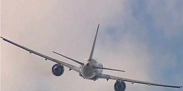 Flugzeug-Notlandung nach Schneesturm