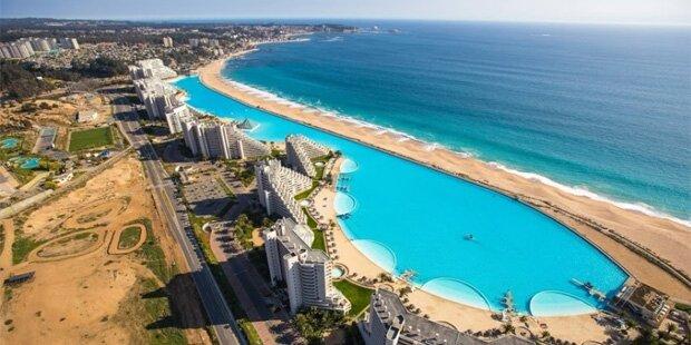 Das ist der größte Swimmingpool der Welt