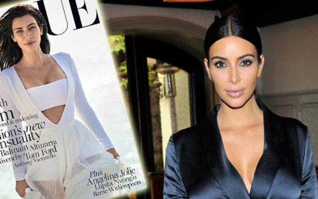 Zweites Vogue-Cover für Kim Kardashian