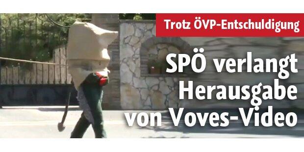 SPÖ verlangt Herausgabe von Voves-Video