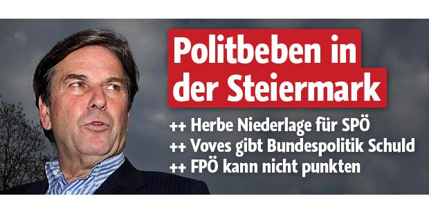 Polit-Beben in der Steiermark