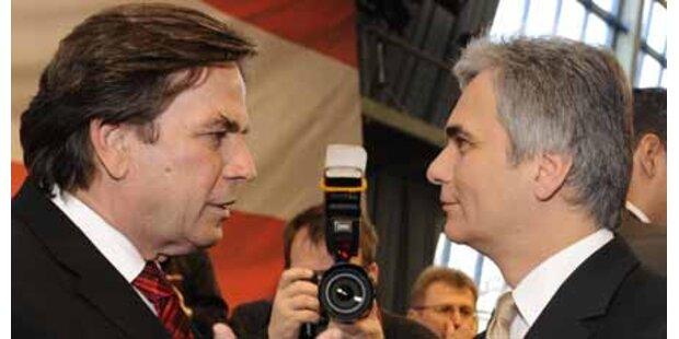 Kärntner SPÖ stellt sich hinter Voves